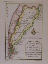 A Particular map of the River Sanaga by G Child