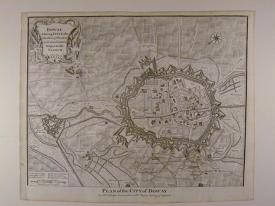 Plan of the City of Doway by Isaac Basire