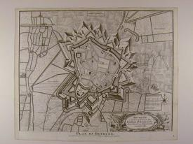 Plan of Bethune by Isaac Basire