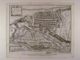 Cony, a strong City of Piedmont in the States of Savoy by Isaac Basire