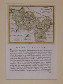 Denbeighshire (Denbighshire) by John Seller
