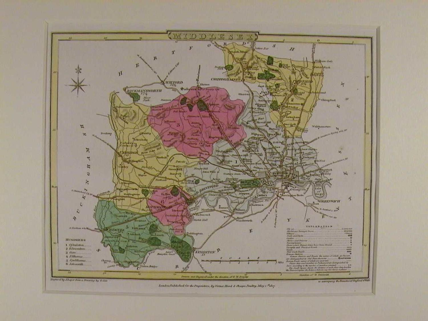 Middlesex by G Cole / J Roper