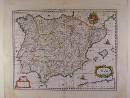 Regnorum Hispaniae nova descriptio by Willem Blaeu