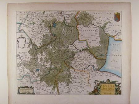 Regiones Inundatae by Johannes Blaeu