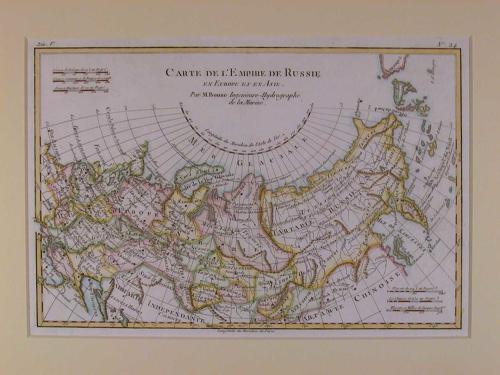 Carte de L'Empire de Russie, en Europe et en Asie.