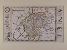 Westmorland by Herman Moll