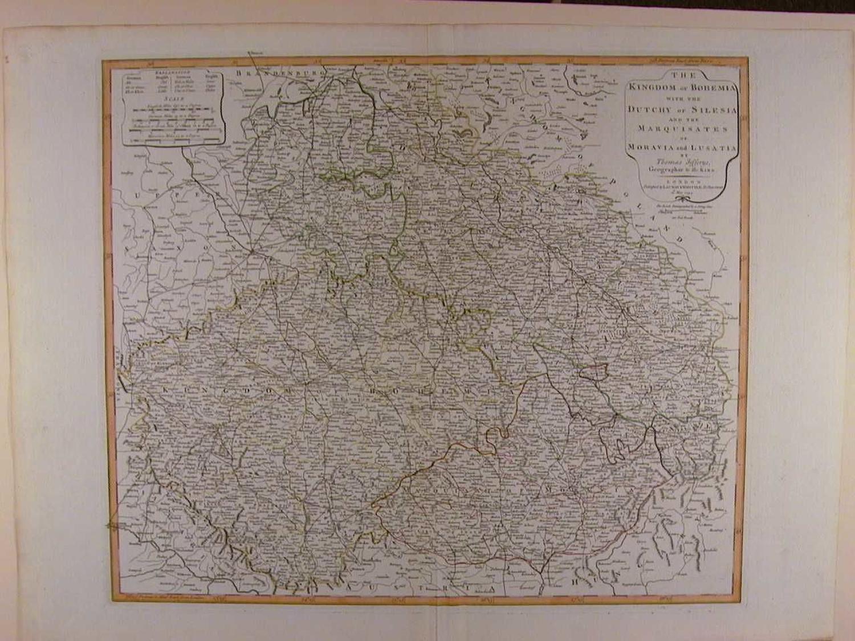 The Kingdom of Bohemia by Thomas Jefferys