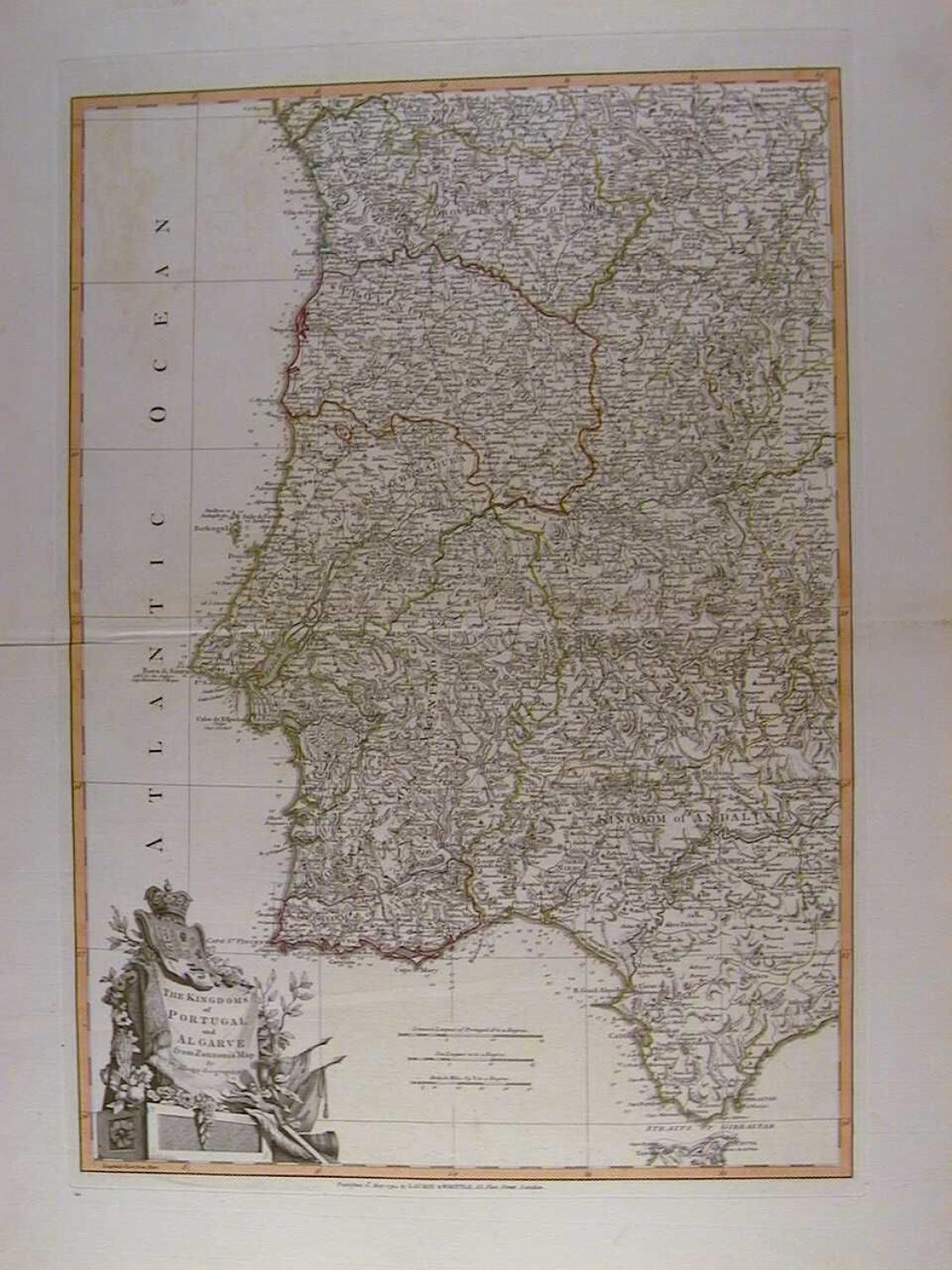 The Kingdoms of Portugal and Algarve by J Lodge