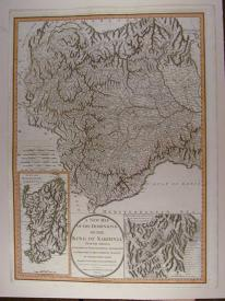 A New Map of the Dominions of the King of Sardinia by Robert Mylne