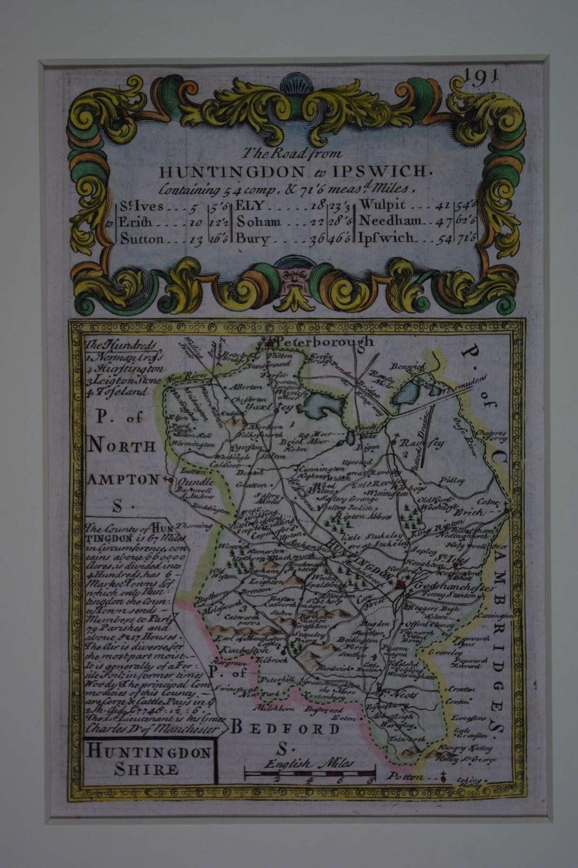 Huntingdonshire by John Owen / Emanuel Bowen