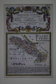 Flintshire by John Owen / Emanuel Bowen