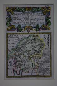 A Map of  Westmorland by John Owen / Emanuel Bowen