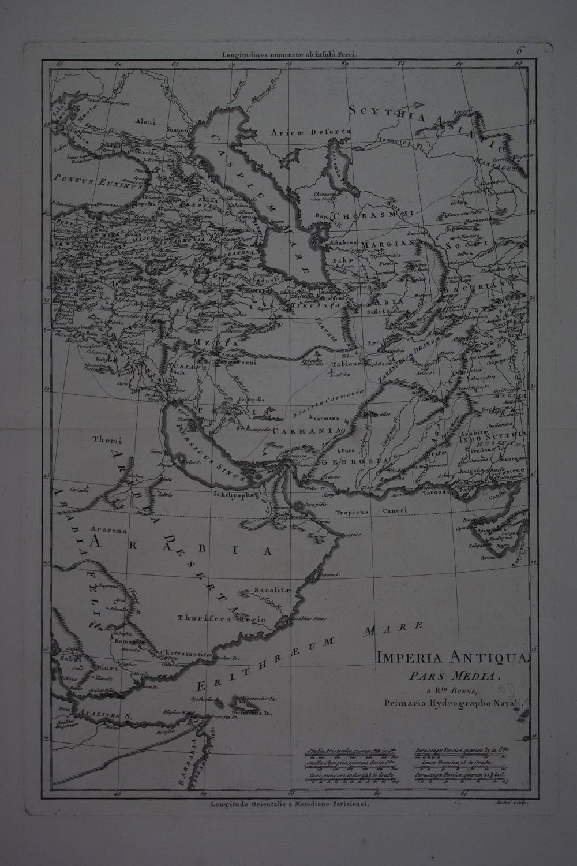 Imperia Antiqua Pars Media by Rigobert Bonne