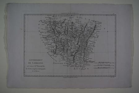 Gouvernement de Lorraine et celui d'Alsace.