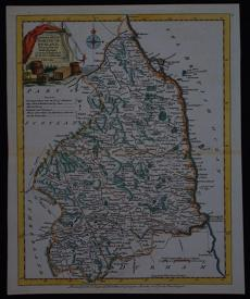 A Modern Map of  Northumberland, by Joseph Ellis