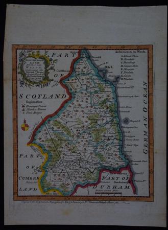 Northumberland by Emanuel Bowen