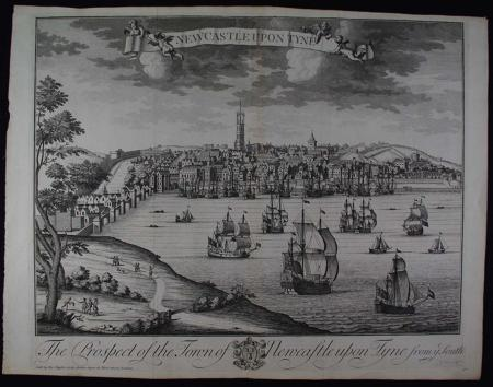 A Prospect of the Town of Newcastle upon Tyne from ye South by Thomas