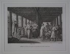 A Dance in Otaheite by Webber