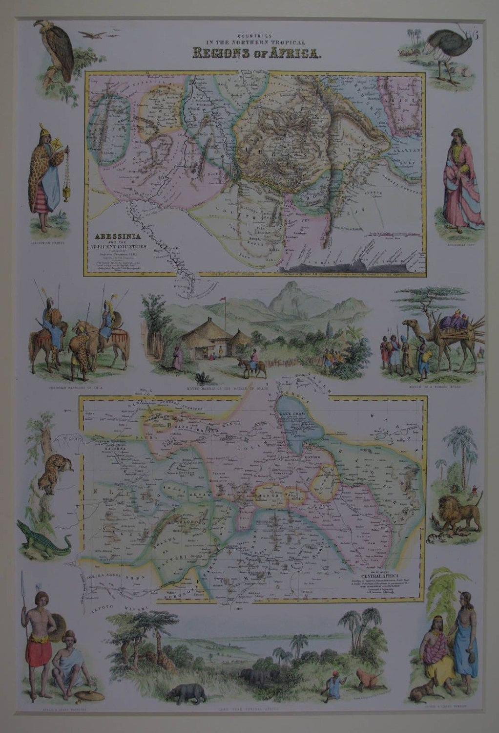 Countries in the Northern Tropical Regions of Africa by Archibald Full