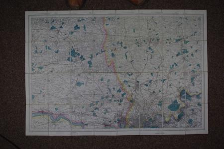 Ordnance Survey Map Sheet no 271 by Ordnance Survey - Colonel A.C. Coo