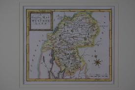 A Correct Map of Westmorland by Thomas Osborne