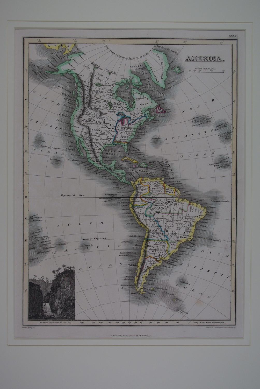 America by J Wyld / NR Hewitt