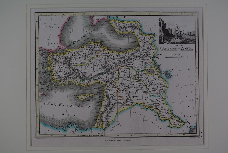 Turkey in Asia by J Wyld / NR Hewitt