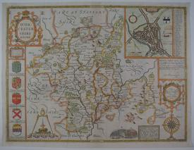Worcestershire Described by John Speed