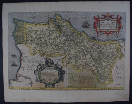 Portugalliae by Abraham Ortelius