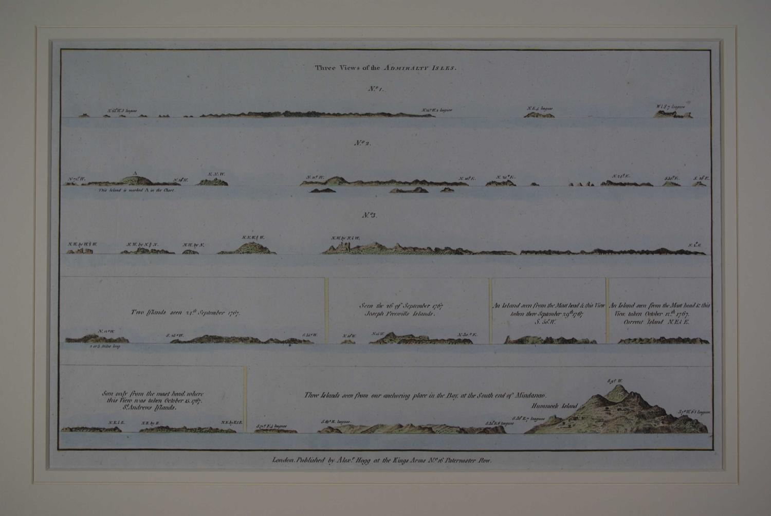 THREE VIEWS OF THE ADMIRALTY ISLES St. ANDREW'S ISLANDS, JOSEPH FREEWI