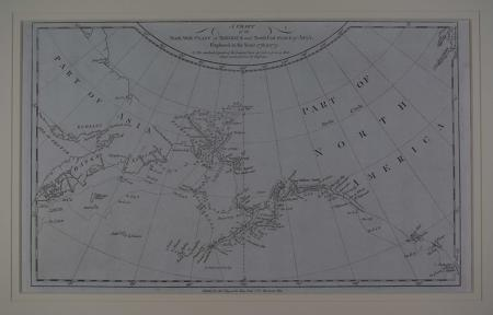 Chart of the NW. Coast of America and N.E. coast of Asia by James Cook