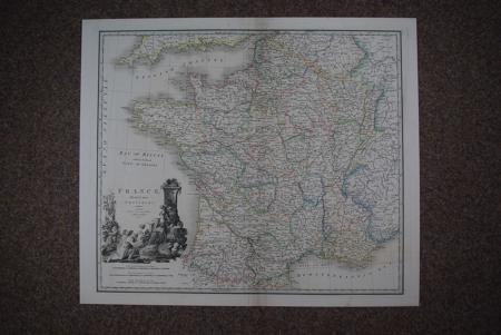 France, divided into Provinces by James Wyld