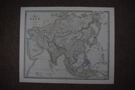 Map of Asia by James Wyld