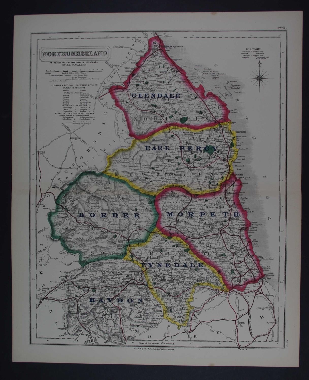Northumberland by J & C Walker