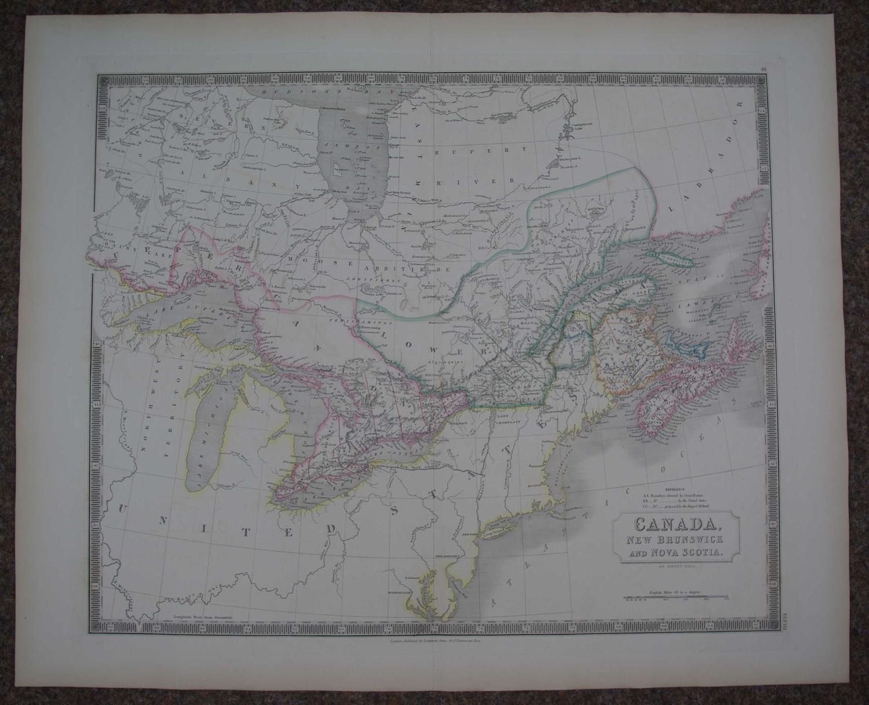 Canada, New Brunswick and Nova Scotia by Sidney Hall