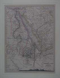 The Countries of the Nile and Part of Arabia by Augustus Petermann