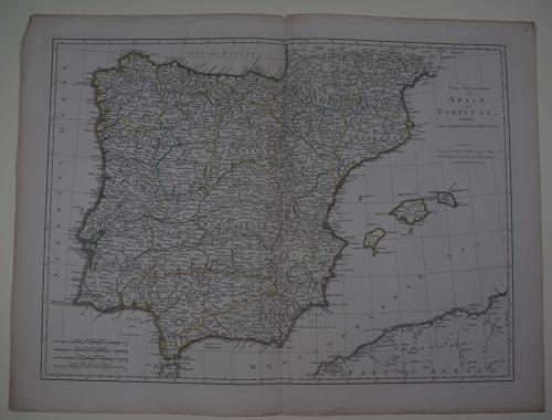The Kingdoms of Spain and Portugal divided Into their Great Provinces