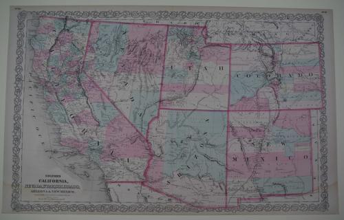 Colton's California, Nevada, Utah, Colorado, Arizona and New Mexico.
