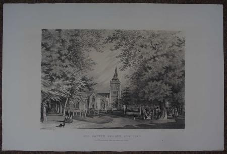 All Saints Church, Hertford by W.H. Taylor