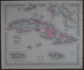 Colton's Cuba Jamaica and Porto Rico