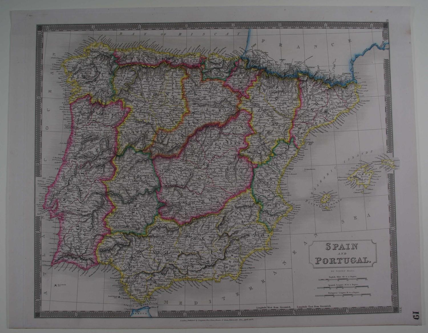 Spain and Portugal by Sidney Hall