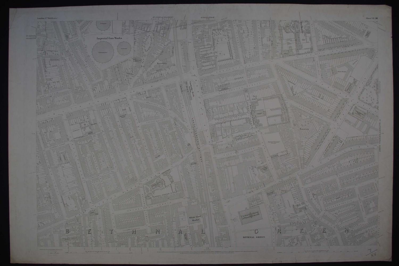 London. Sheet VII. 38 by Ordnance Survey
