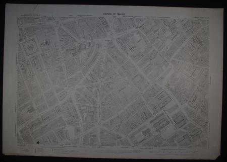 London. Sheet VII. 63 by Ordnance Survey Edition of 1894-96
