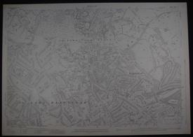 London.  Sheet 1...16. Middlesex Sheet X1...16 by Ordnance Survey: Revision of 1915
