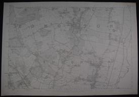London. Sheet. Middlesex/Hertfordshire.  Sheet V11 Do XLV1 by Ordnance Survey