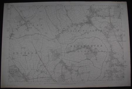 London. Sheet. Middlesex/Hertfordshire.  Sheet V1 Do XLV by Ordnance Survey