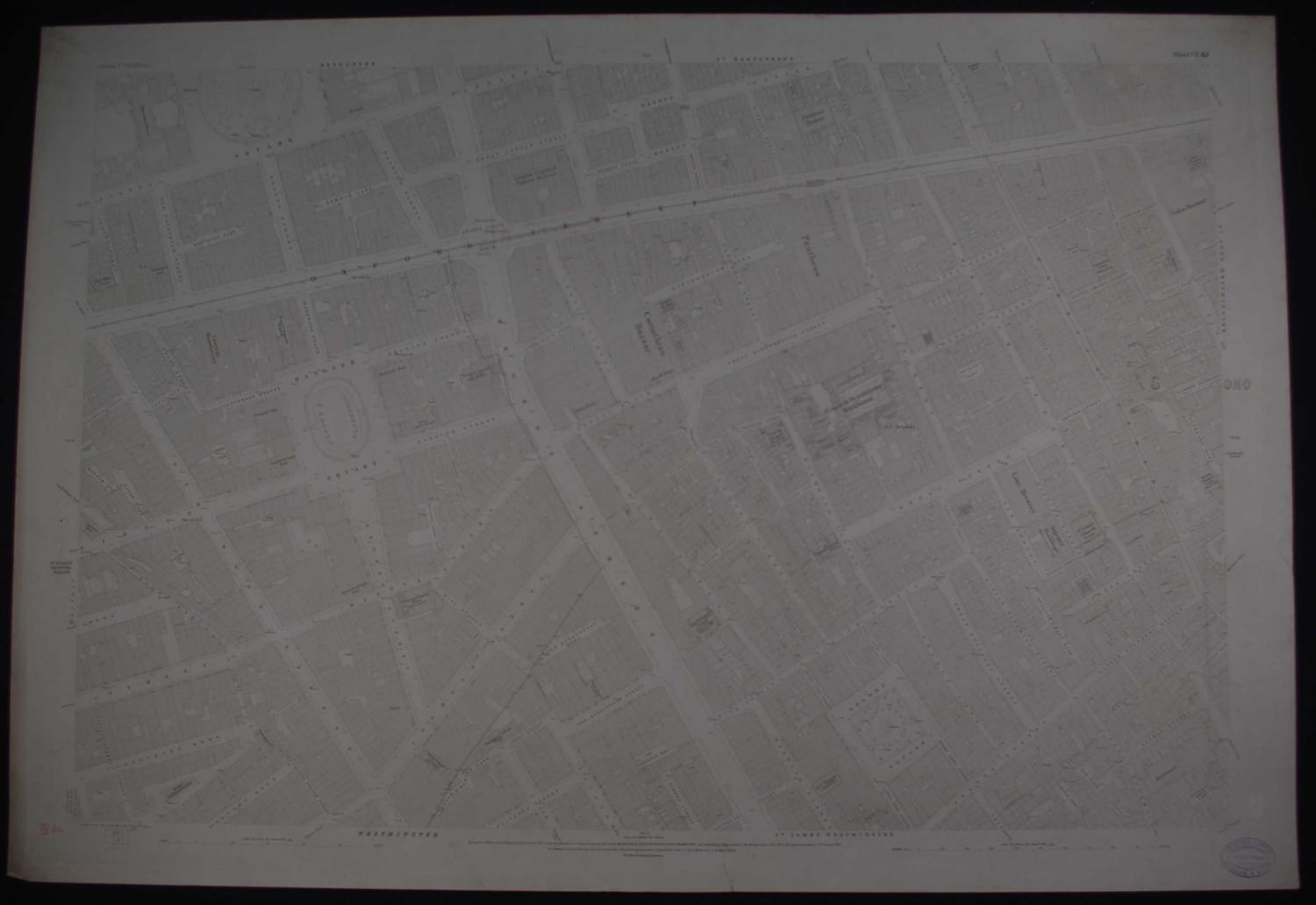 London. Sheet  VII. 62 by Ordnance Survey
