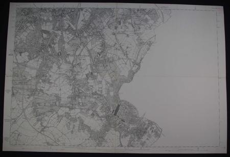 London. Sheet V111 by Ordnance Survey