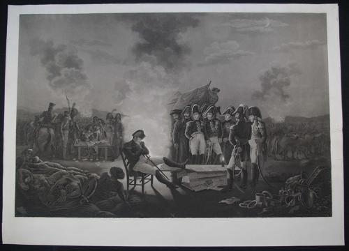 (Untitled) Napoleon asleep watched by Generals