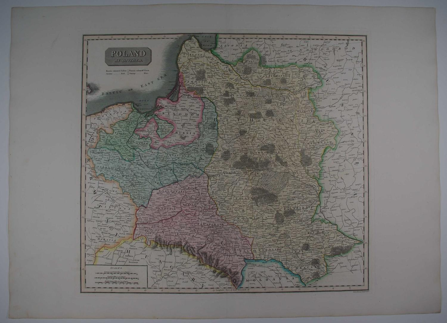 Poland as divided by John Thomson